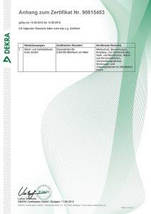 ISO9001 Zertifikat  - 03